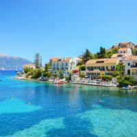 Kefalonia island in Ionian sea, sailing with 7 islands yachting, Greece